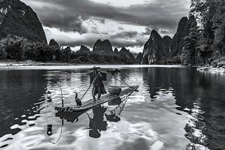 *The Li River Fisherman @ classic pose*