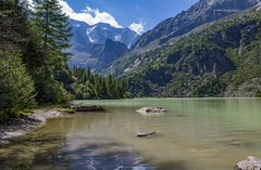 Aviolo Lake (Stefano Guerrini Rocco_) Tags: italy italia montagna mountain lago lake colors colori natura pontedilegno nikon aviolo acqua water sky clouds