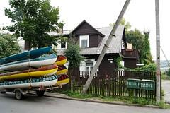 Vilnius, 2012 (Attilio Piano) Tags: neris vilnius lithuania canoe wooden