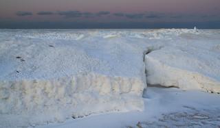 Ice on Cape Cod Bay