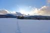 Winter tracks (Xtraphoto) Tags: sonnenuntergang sunset wood bayerischerwald bayern bavaria winterlandschaft landschaft landscape forest snow schnee spur spuren track tracks winter