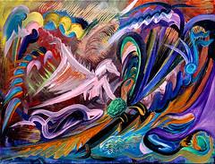 Turtle Wave (MattCrux) Tags: art artwork painting expression colorful artist acrylic arts artsy artistique creative abstractartist abstract abstractpainting paintingart turtle horse angel abstraction rainbow