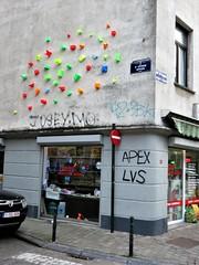 / Bruxelles - 13 jan 2018 (Ferdinand 'Ferre' Feys) Tags: bxl brussels bruxelles brussel belgium belgique belgië streetart artdelarue graffitiart graffiti graff urbanart urbanarte arteurbano ferdinandfeys