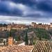 La Alhambra (josmanmelilla) Tags: granada monumental monumento alhambra nubes rio albaicin sacromonte pwmelilla flickphotowalk pwdmelilla pwdemelilla españa sony