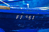 Fading Out (28/365) (Walimai.photo) Tags: matrícula fade out blue azul bleu barco ship barca boat mar ocean sea getaria paísvasco euskado españa spain nikon d7000 helios 44m4 detail detalle