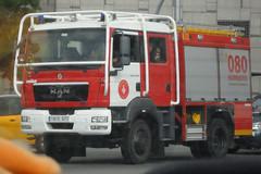 Bombers de Barcelona (bleulights) Tags: bombers de barcelona b211 man tgm16290 bomberos firefighters rescue feuerwehr vigili del fuoco pompiers suhiltzaileak straz pozarna