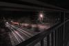 Cars are stripes (georg.kaiblinger) Tags: nacht nürnberg langzeit nikon nikond5500 bridge brücke autos cars light licht zieher sigma