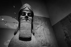 Lamassu (awdylanis) Tags: humanheaded winged bull lamassu assyrian museum art culture themet themetropolitanmuseumofart themetropolitan met artsy black white