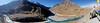 Confluence (Vinchel) Tags: india jammu kashmir ladakh outdoor nature landscape panorama sky mountain travel fuji xt2 1655mm mountainside snow river