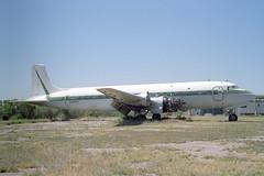 N4885C Douglas DC-7B T & G Aviation (pslg05896) Tags: n4885c douglas dc7 tgaviation chandler memorial 34az
