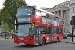 Arriva London HV297 LK17AFZ (Will Swain) Tags: hyde park corner 28th october 2017 greater london capital city south east bus buses transport travel uk britain vehicle vehicles county country england english arriva hv297 lk17afz