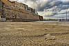 Vista sulla spiaggetta di Otranto vicino al porto (diegozizzari) Tags: otranto mare onde cielo colori panorama lecce barca porto spiaggia nuvole salento
