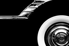 Packard Cap (Modkuse) Tags: tokinaaf2870mmf2628 concours classicautomobile monochrome classic automobile packard nikon n90s nikonn90s film transparency slide slidefilm