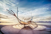Sun Voyager taking off (Jacob Surland) Tags: art caughtinpixels city clouds country fineart fineartphotography hdr harbor harborfront harbour highdynamicrange iceland jacobsurland landscape light realismdigitalart reykjavik sunvoyager sólfar warmlight water waterfront