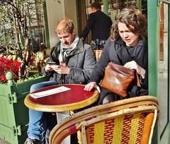 2018-02-17  Paris - Le Rostand - Rue de Médicis - Place Edmond Rostand (P.K. - Paris) Tags: paris février 2018 february people candid street café terrasse terrace