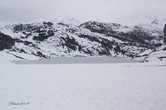 Lago Ercina (Kilmar2010) Tags: asturias inviewrno nieve lagos covadonga snow winter schnee lakes ice montaña berg mountains