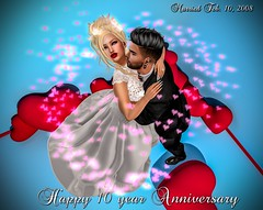 Happy 10 Year Anniversary (Pippa Valentino (Pippa Rosca)) Tags: secondlife 10years anniversary deaddollz deadwool foxcity focusposes