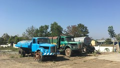 Myanmar, Bago Region, Pyay District, Padaung Township, Oke Shit Pin Village Tract (Die Welt, wie ich sie vorfand) Tags: truck trucks myanmar burma bicycle cycling bagoregion bago westbago pyaydistrict pyay padaungtownship padaung okeshitpin hinoth surly crosscheck