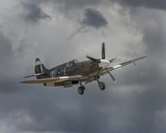 Spitfire Mk PRXIX PS890 (Linton Snapper) Tags: spitfire prxix flyinglegends canon cambridgeshire lintonsnapper warbird