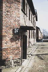 Barricks. Auschwitz Concentration Camp, Poland. (jtatodd) Tags: 2018 adolfhitler amateur antisemitism architecture auschwitz barricks blocks bricks concentrationcamp digital europe feburary fullframe genocide holiday holocaust ilce7 jewish krakow mirrorlesscamera nazi photography poland sony sonyfe2870mmf3556oss sonya7 tourist unesco vacation wwii winter