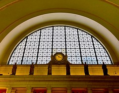 Clock (#KPbIM) Tags: 2017 winter december travel trip dc maryland vacation washington virginia arch building amtrak train architecture union station clock