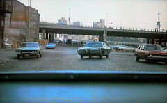 By popular demand... another still from the 1973 season of Kojak.  This shot was taken from the back seat of a criminal's car looking to an NYPD police car giving chase. Cobblestone streets, FDR Drive, East River and Brooklyn in the background. New York (wavz13) Tags: oldphotographs oldphotos 1970sphotographs 1970sphotos oldphotography 1970sphotography vintagephotographs vintagephotos vintagephotography filmphotos filmphotography newyorkphotographs newyorkphotos oldnewyorkphotography oldnewyorkphotos vintagenewyork vintagemanhattan oldbuildings abandonedbuildings oldtv vintagetv 1970stv oldtvshows vintagetvshows 1970scopshows vintagecopshows oldcopshows vintagepoliceshows 1970spoliceshows oldpoliceshows oldcrimeshows vintagecrimeshows 1970scrimeshows vintagetelevisionshows 1970stelevisionshows urbanphotography urbanphotos urbanscenes cityphotography oldcars vintagecars 1970scars collectiblecars collectablecars 1970smanhattan 1970snewyork oldnewyork oldmanhattan lowereastside newyorkskyscapers 1970scar oldcar