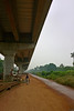 Progress? (wfung99_2000) Tags: india kerala infrastructure development transportation alleppey alappuzha bypass elevated highway beach