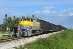 506, Belle Glade, 28 Nov 2017 (Mr Joseph Bloggs) Tags: 506 emd gm electro motive division general motors sd402 train treno sugarcane ussc united states corporation scfe south central florida express freight cargo merci bahn railway railroad belle glade bryant clewiston