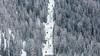 Trough the forest (Nicola Pezzoli) Tags: dolomiti dolomites unesco val gardena winter snow alto adige italy bolzano mountain nature december lift boe corvara badia forest cabin yellow piz