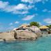 Pool auf der Insel Felicite, Seychellen