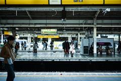 Waiting Shinjuku Station (Pop_narute) Tags: shinjuku station train railway transportation waiting japanese people life street urban tokyo