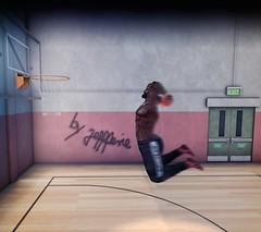 Snapshot_the basket (jeffresident) Tags: jeff basketball basket black sport mesh belleza altanura