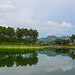 Lake scenery in Moc Chau, Vietnam
