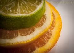 Lime Lemon Orange (HMM) (13skies) Tags: lime lemon orange citrus sweet sun fruit citrusfruit hmm monday green yello healthy pulp flesh skin happymacromonday macrp macroscopic sonyalpha100 close windowlight depthoffield dof