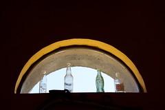 Tavern Window (The Good Brat) Tags: colorado us bar tavern bottles window indoor silverton minimalist simple