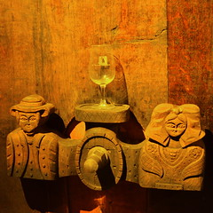 Wine Tap [Riquewihr - 7 December 2017] (Doc. Ing.) Tags: 2017 france alsace grandest basrhin sélestaterstein riquewihr square wood barrel winery wine carving alsacewineroute upperrhine tap brown