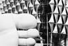Three Toes in Nine Elms, London (Sean Batten) Tags: london england unitedkingdom gb embasssy americanembassy usembassy sculpture foot toes nikon d800 70200 blackandwhite bw
