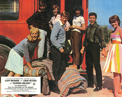 Ex London transport RT Summer Holiday lobby card 1962. (Ledlon89) Tags: summerholiday rt rtbus aecregent lt lte londontransport bus buses london vintagebus movie 1962 londonfilms cliffrichard