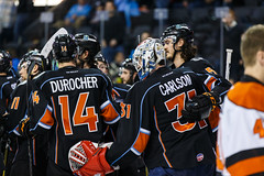 "Kansas City Mavericks vs. Ft. Wayne Komets, March 2, 2018, Silverstein Eye Centers Arena, Independence, Missouri.  Photo: © John Howe / Howe Creative Photography, all rights reserved 2018 • <a style=""font-size:0.8em;"" href=""http://www.flickr.com/photos/134016632@N02/39930354114/"" target=""_blank"">View on Flickr</a>"