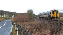 Northern Ways (_J @BRX) Tags: d5100 nikon northern nt trains train silverdale lancashire england uk january 2018 winter sprinter dmu 2c52 barrowinfurness lancaster class156 156481