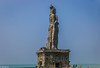 ThiruvaLLUvar (Balaji Photography - 4.9M views and Growing) Tags: thiruvalluvar kanyakumari monument statue thirukural tamilnadu tamil blue indianocean