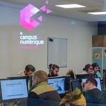 Le nouveau Campus numérique d'Annecy installé aux Papeteries - Image Factory, a ouvert ses portes en septembre. thumbnail