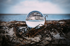 O (MobilShots) Tags: blende1net patrickgorden beach fotografhamburg fuji fujifilm laboe ostsee outdoor sand sea strand urban water xt1 reflection crystalball glas nature