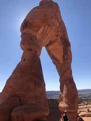 A side view of Delicate Arch in Arches National Park, Utah (Hazboy) Tags: hazboy hazboy1 arches arch delicate national park parc utah us usa america october 2017