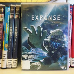 The Expanse, Season Two. (Joseph Skompski) Tags: catonsvillemd catonsville maryland theexpanse library dvd
