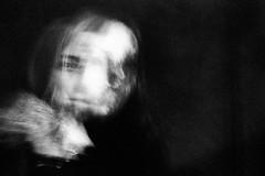 Spectral. (AloysiaVanTodd) Tags: bnw blackandwhite art noiretblanc dark darkness dismal analog argentique 35mm negativefilm lomography ladygrey 400asa sensitivity sombre soul shadows natural portrait poetry photography blur light life spectral ghost creepy clairobscure expressive mind