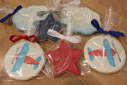 Airplane Party Cookies