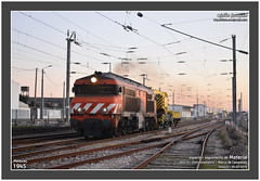 Medway 1945 · 95213 · Esmoriz · 04.02.2018 (Joao Joaquim) Tags: medway 1945 1930 alsthom alstom diesel nezcasse grua mercadorias cp ip gaia porto linha do norte train tren
