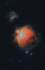 M42 The Great Orion Nebula, 29 Novembre 2016 (Reynolds Sr.) Tags: pixinsight deepsky astronomy astronomia officinastellare qhy10ccd starrynight profondocielo thesky joptron