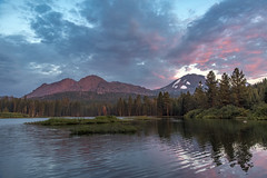 Manzanita Lake Sunset (acase1968) Tags: lassen manzanita lake volcanic national park northern california nikon d750 nikkor 24120mm f4g